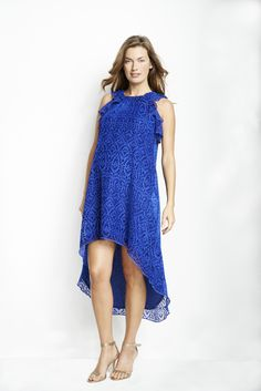 Maternal America's High Low Lace Dress