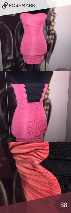 Forever 21 mini dress Great condition, molds body really nicely, true to size. Forever 21 Dresses Mini