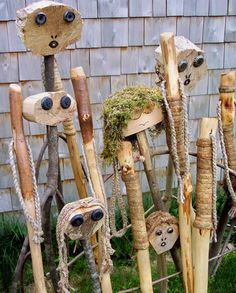 Walking Sticks His and Hers pair  60 and 58 inch by bearpawrustics, $55.00