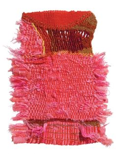 Sheila Hicks.Wil Bertheux, 1973; silk, wool
