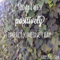 #Today I will #positively #impact someone's day. http://bodhibrand.com #loveandlight #journey #shine #kindness #love #weareone #beach #lovewhoyouare #EVOLve #wisdom #higherself #namaste #inspiration #happiness #peace #instagood #bekind #shopgood #vegan #yoga #yogi #karma #staypositive #peopleoverprofit #spreadthelove #payitforward #seethegood http://ow.ly/Rz2w1