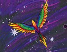 Native American Rainbows Legends: Mànàka'has, the Rainbow Crow