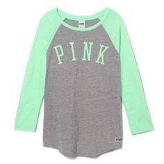 Baseball Tee - PINK - Victoria's Secret