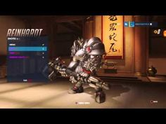 Overwatch: Reinhardt Emotes - YouTube