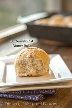 Buttermilk-Oat Rolls
