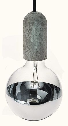 NUD Base Light with Mirrored Glass
