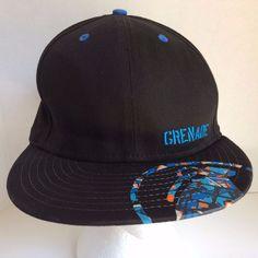 new styles e95be d6044 2011 GRENADE Adult 7 3 8 Black New Era Baseball Cap Hat  NewEra   BaseballCap  Grenade