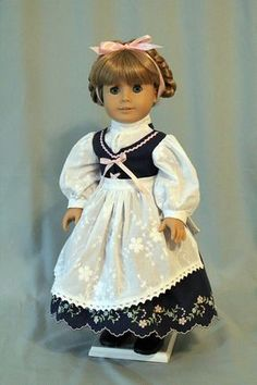 Embroidered Dirndl for AG Dolls by BabiesArtUs on Etsy $95.00 - Reduced Sale $85.00 12/2015