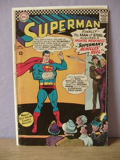 vintage 1930's superman comic book 1st series by ShoponSherman, $10.00