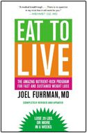A fantastic book that will undoubtedly have insurmountable and immeasurable benefits for your life based on the food choices you make on a daily basis. This book was written by Dr. Joel Fuhrman, a board-certified family physician and nutritional researcher who has a medical practice in Flemington, NJ. He has helped thousands of people overcome disease, and he can help you too! I recommend this book!    Check out his About Me: http://www.drfuhrman.com/ask/our_company.aspx