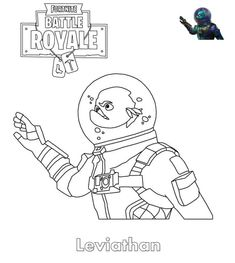 Print Abstrakt Fortnite Skin coloring pages | Birthday ...