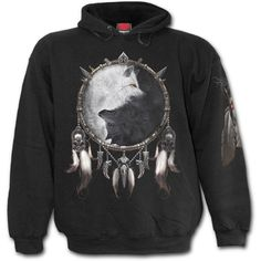 Wolf Chi Hoody  $75.50   http://www.highvoltageclothing.com   #clothing #musthave #tattoo #goth #loveit #biker #fashion #tribal #sale #steampunk