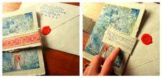 Handmade, quirky, wedding invitations
