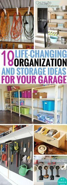 18 Life Changing Garage Organization And Storage Ideas