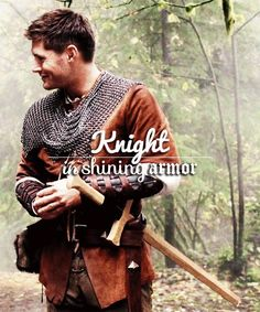 Chainmail... A great look for you Jensen. #Supernatural #LARPandTheRealGirl