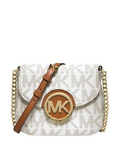 MICHAEL MICHAEL KORS MK Signature Print Fulton Small Crossbody Bag