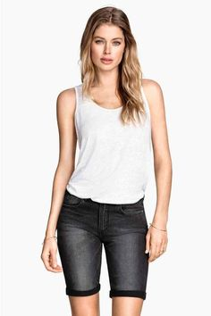 Shorts al ginocchio in jeans | H&M
