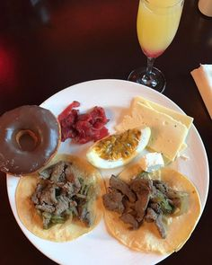 The spa was amazing. Now trying all the things for breakfast including tacos and donuts!  #sundayfunday #eatallthetacos #eatallthedonuts