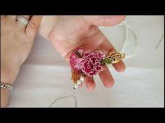 Elde başlama iğne oyası karanfil nasıl yapılır ? How to make a clove using Turkish needle lace ?#DIY - YouTube
