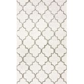 Found it at Wayfair.ca - Hacienda Park Avenue Trellis Nickel Geometric Area Rug