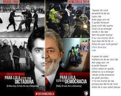 "Manifestantes venezuelanos ""homenageiam"" apoiadores de Nicolás Maduro | #DilmaRousseff, #Ditaduras, #EpochTimes, #Lula, #NicolásMaduro, #Venezuelanos"