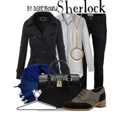 """Sherlock"" by leslieakay on Polyvore"