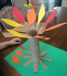 Tree and roots porject Learners in Bloom: Autumn Tree Craft