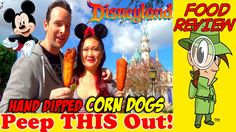 Disneyland® | Hand Dipped Corn Dogs Review! Peep THIS Out!