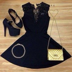Love this look - classic LBD