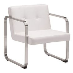 Zuo Modern Varietal Arm Chair White - 900642