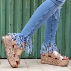 Jeans flecos