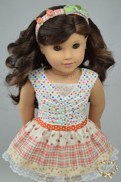 American girl doll clothes Special Occasion OOAK von PurpleRoseNY