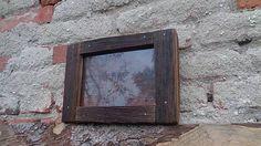 Svatava / Starodrevný rámik so sklom