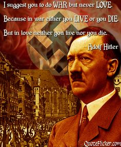 The Mantra of a Megalomaniac. Adolf Hitler. The Arch prince of Fascism , the destructive power aspect of Ray One. Some esotericists believed that Hitler believed he had direct power and knowledge of his destiny from Shambhalla and Hitler thought his actions were justified because of this. Hitler had a Tyrannical First Ray Personality. Both Britain and Germany have Personas on the First Ray. .