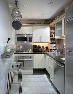 Really like the framing in this kitchen