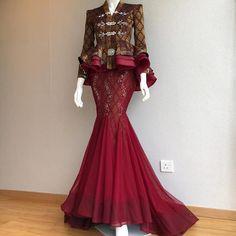 Gaun Dress, Dress Brukat, Hijab Dress Party, Party Wear Dresses, Kebaya Dress, Bridal Dresses, Muslim Fashion, Ethnic Fashion, Hijab Fashion