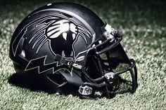 northwestern wildcats football helmets   northwestern black helmet Photo: Northwestern Wears New Black Helmet ...