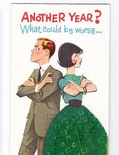 1965 Anniversary Card by ArcaniumAntiques