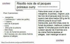 RISOTTO NIX DE ST JACQUES POIREAUX CURRY
