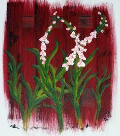 Impressie van Gladiolen