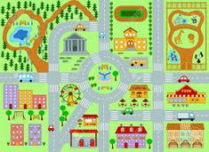 maps of europe with cities spce imovie artifact other non dp artifacts intasc a vector image of city map for kids blank fantasy world map black and white Maps For Kids, Diy For Kids, Map Symbols, Kids Collection, Nyc With Kids, Play Shop, Draw On Photos, Fantasy Map, City Maps