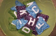 Alphabet Bean Bags  Homemade Mamas: Kid Crafts Kids Sites, Kids Playing, Baby Car Seats, Crafts For Kids, Homemade, Children, Bean Bags, Alphabet, Crafts For Children