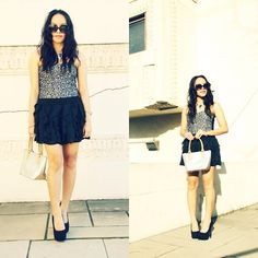 Leopard Is The New Black  (by Lily S. @P.S. Lily Boutique) http://lookbook.nu/look/4610567-Leopard-Is-The-New-Black
