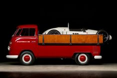 VW pick-up with Porsche Formula V