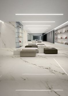 Imperial white maximum from Marmi Maximum. #Porcelain #Tile by #GranitiFiandre