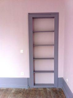 Chambre - Porte dérobée / Bedroom - hidden closet