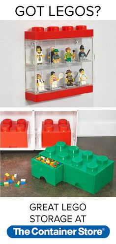 Your bare feet will thank you later. Our Lego Storage Drawer is a fun way to organize all those legos. Lego Storage Drawers, Game Storage, Toy Storage Boxes, Toy Boxes, Storage Ideas, Lego Minifigure Display, Toy Organization, Organizing Toys, Lego Birthday Party
