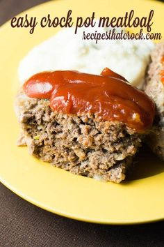 Are you looking for a wonderful meatloaf recipe? This easy crock pot recipe is a great way to make meatloaf. A delicious homemade favorite every time.