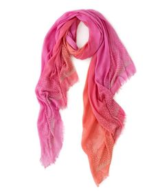 Look at this #zulilyfind! Nectarine Studded Valentina Scarf by Shiraleah #zulilyfinds