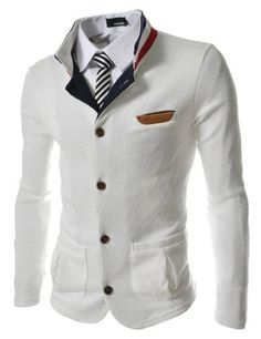 (GD140) TheLees Slim Stretchy China Collar Knitted Cardigan WHITE Large(US Medium) TheLees,http://www.amazon.com/dp/B00DZJ8YVA/ref=cm_sw_r_pi_dp_0Y9Gtb14Z7RYHDZP